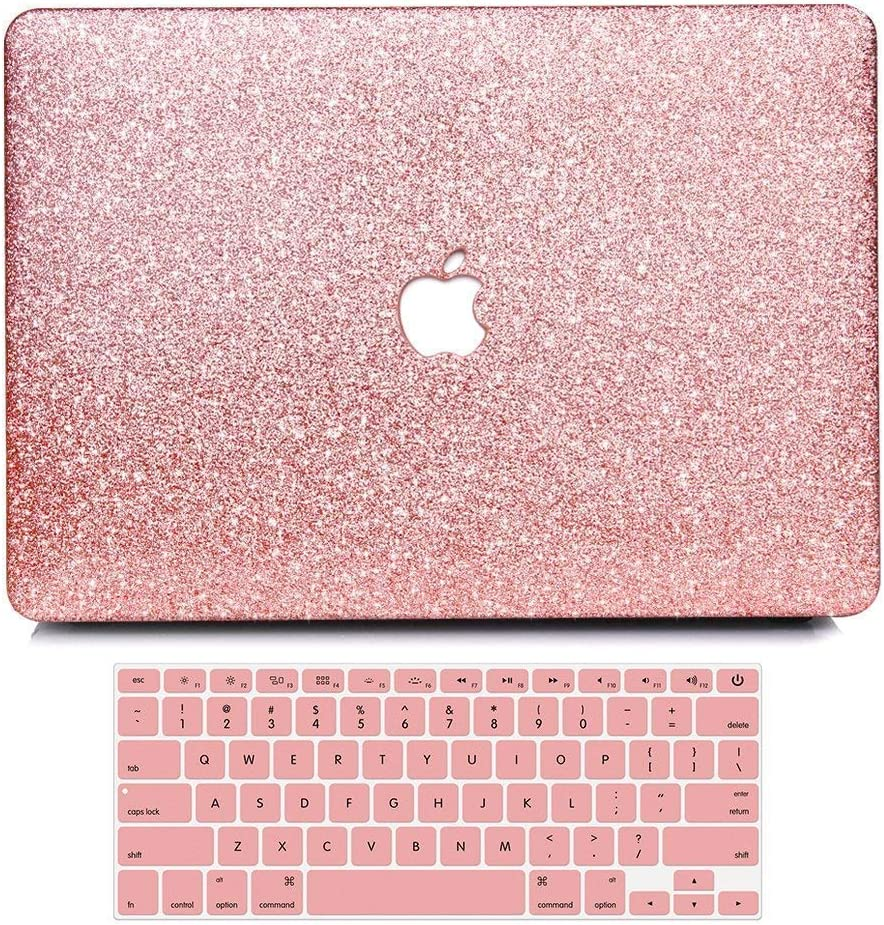 B BELK MacBook Pro 13 Inch Case, 2 in 1 Bling Crystal Smooth Ultra-Slim Light Weight PC Hard Case with Keyboard Cover for MacBook Pro 13.3 Inch (Model:A1278) (with CD-ROM/NO Retina/NO Touch Bar)