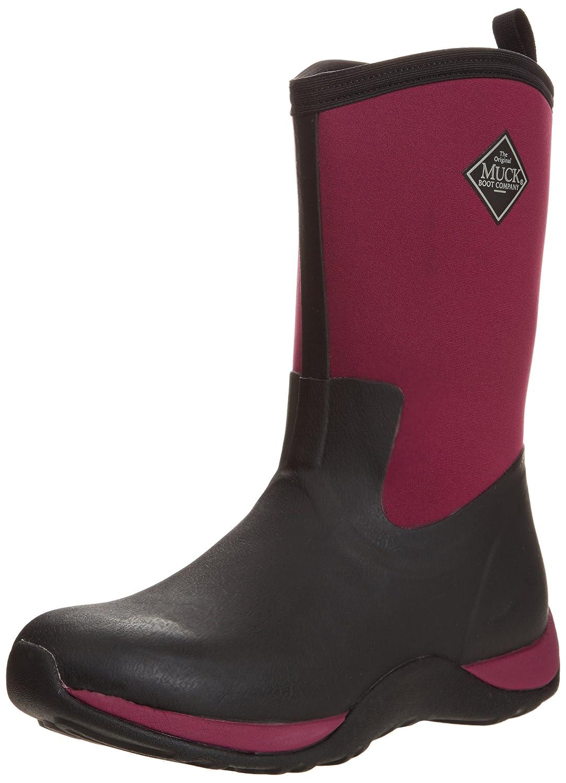 Muck Boot Company Women's Arctic Weekend Boot B00BN61E5K 9 B(M) US|Black/Maroon