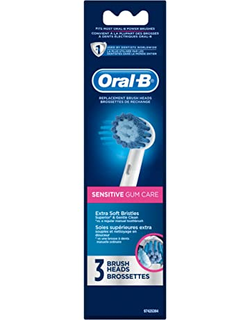 Oral-B Sensitive Gum Care Electric Toothbrush Replacement Brush Heads, 3ct