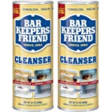 BAR KEEPERS FRIEND Powdered Cleanser 21-Ounces (2-Pack)']