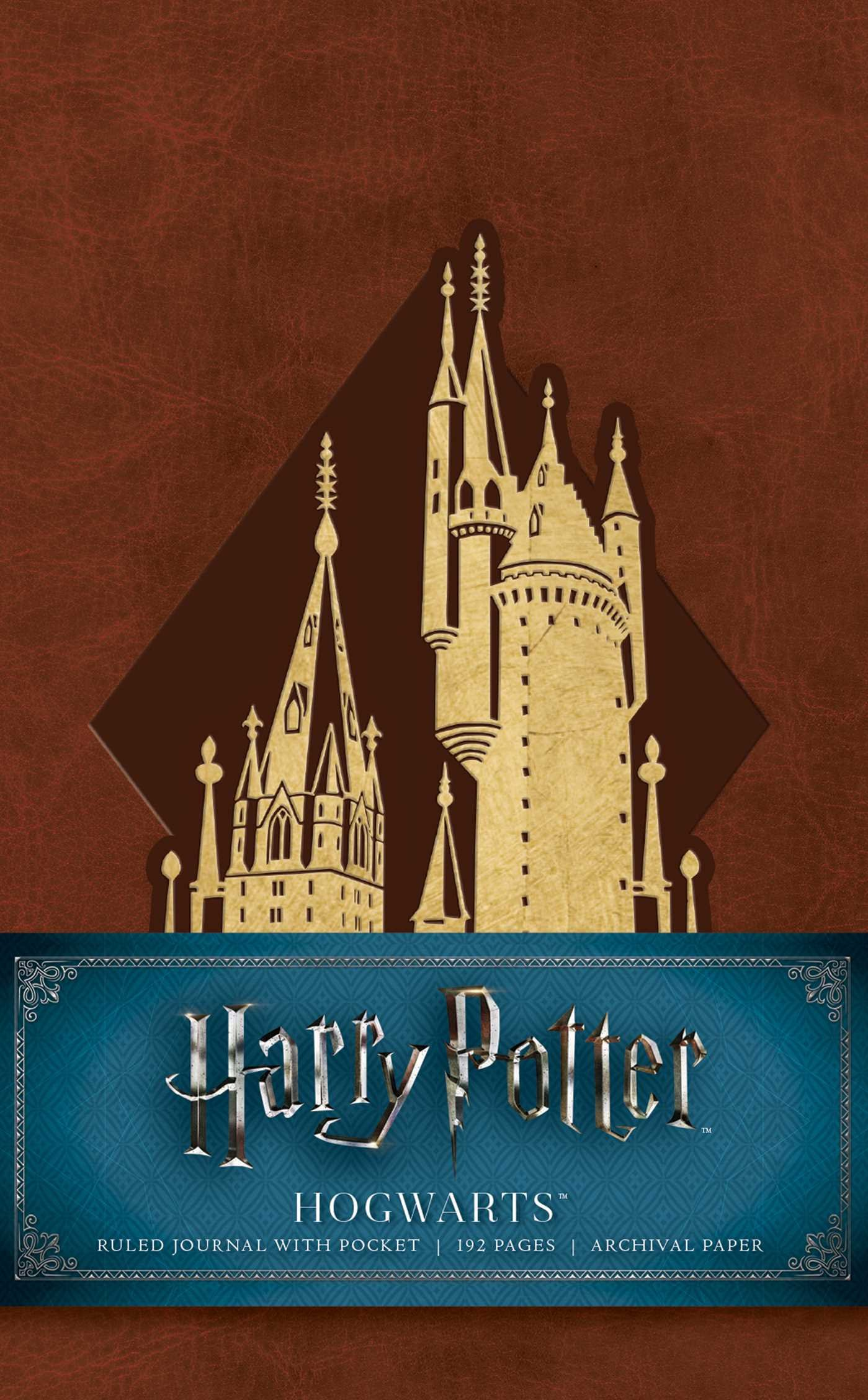 Amazon.com: Harry Potter: Hogwarts Ruled Pocket Journal ...