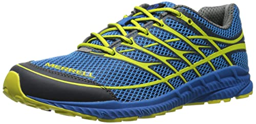 Merrell Men's Mix Master Move 2 Trail Running Shoe, Blue/Green, ...