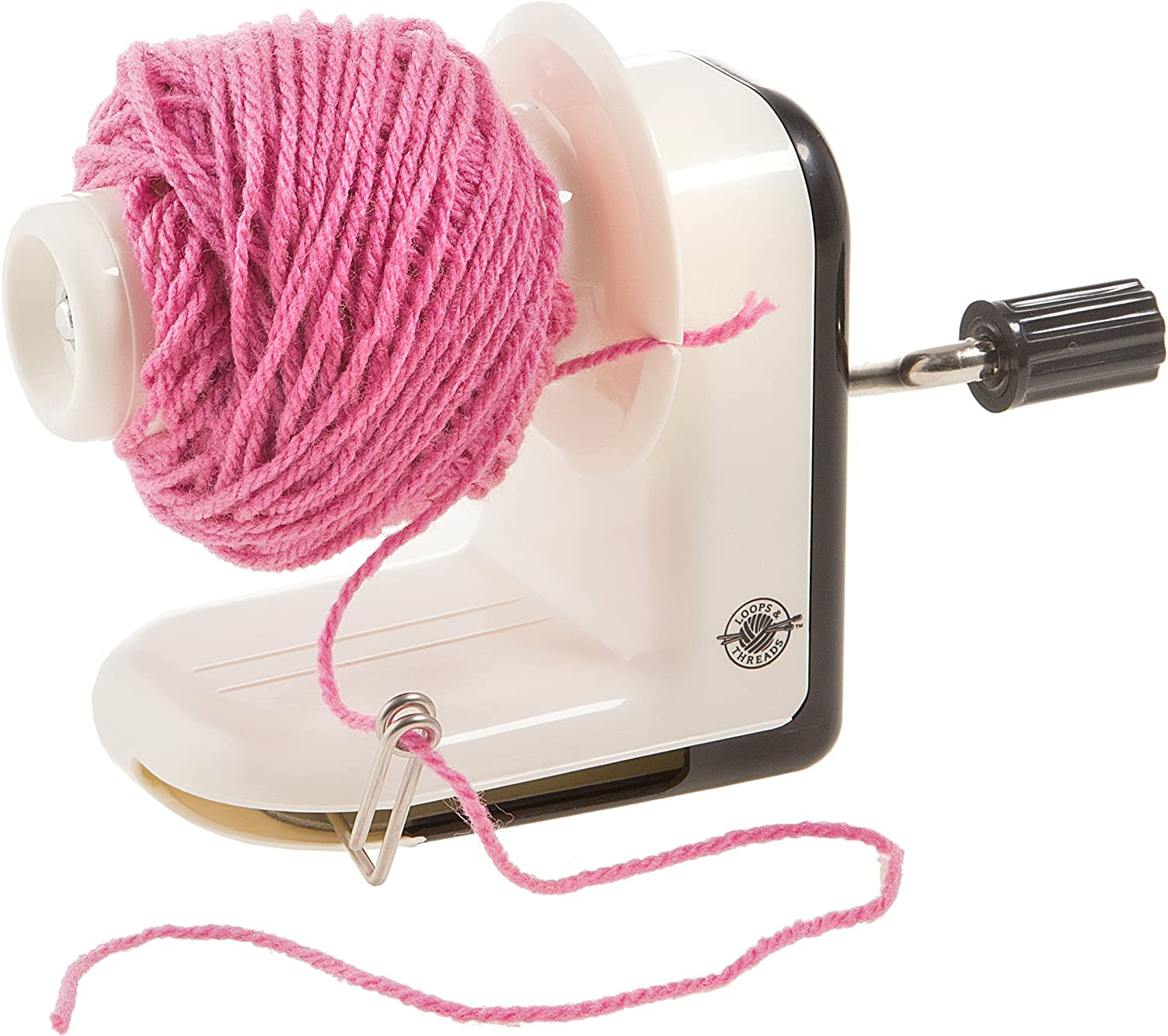 The small and compact Darice Yarn Winder