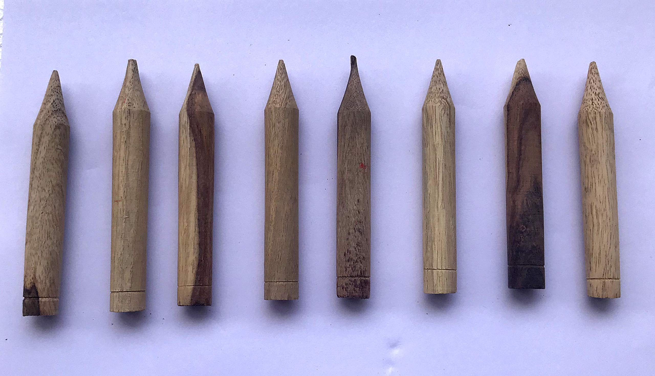Tabla Bayan Gatte 8 Pieces Wooden Professional Standard Quality Pegs by Vadyam