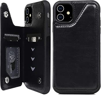 Supwall iPhone 11 Wallet Case with Card Holder