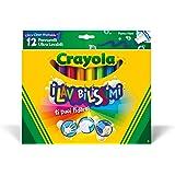 Crayola - 58-8329-e-000 - 12 Feutres À Colorier - Ultra Lavable