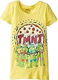 Teenage Mutant Ninja Turtles Girls' Pizza T-Shirt
