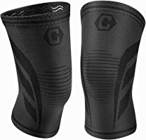 Cambivo Knee Support Brace, Knee Compression Sleeve for Running, Arthritis, ACL, Meniscus Tear, Sports, Joint Pain...
