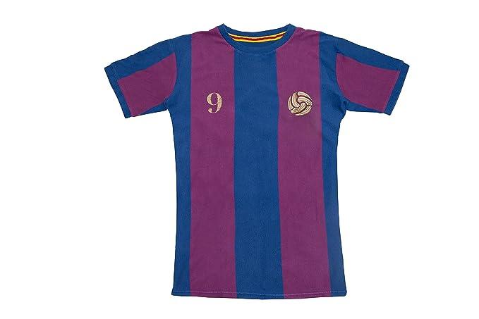 Coolligan - Camiseta de Fútbol Retro 1899 Blaugrana - Color - Azul - Talla - XXS: Amazon.es: Ropa y accesorios