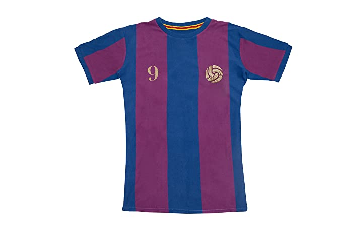 Coolligan - Camiseta de Fútbol Retro 1899 Blaugrana - Color - Azul - Talla - XXS