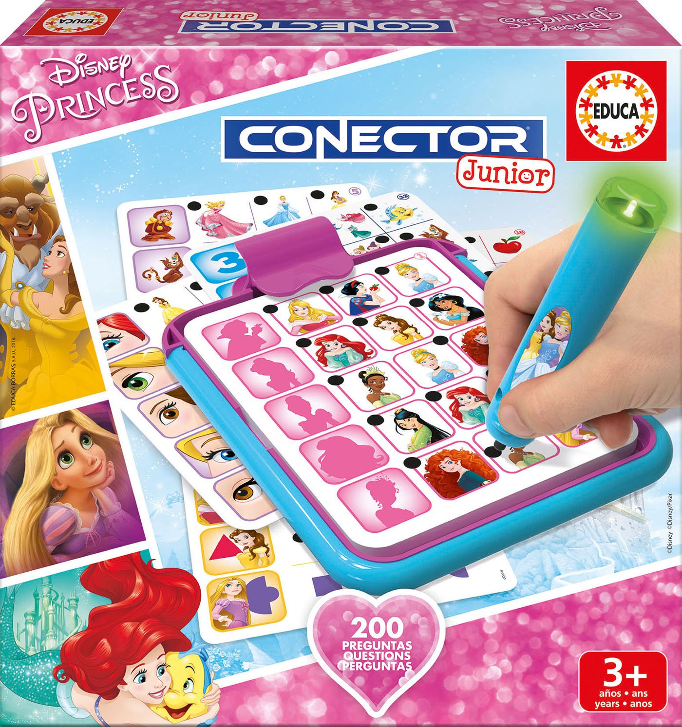 Educa 17200.0 - Conector Junior Disney Princess Educa Borras