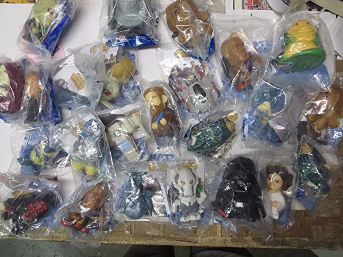 Star Wars Burger King Toys Unopened Mint Condition Revenge Of The Sith Last Jedi At Amazon S Entertainment Collectibles Store