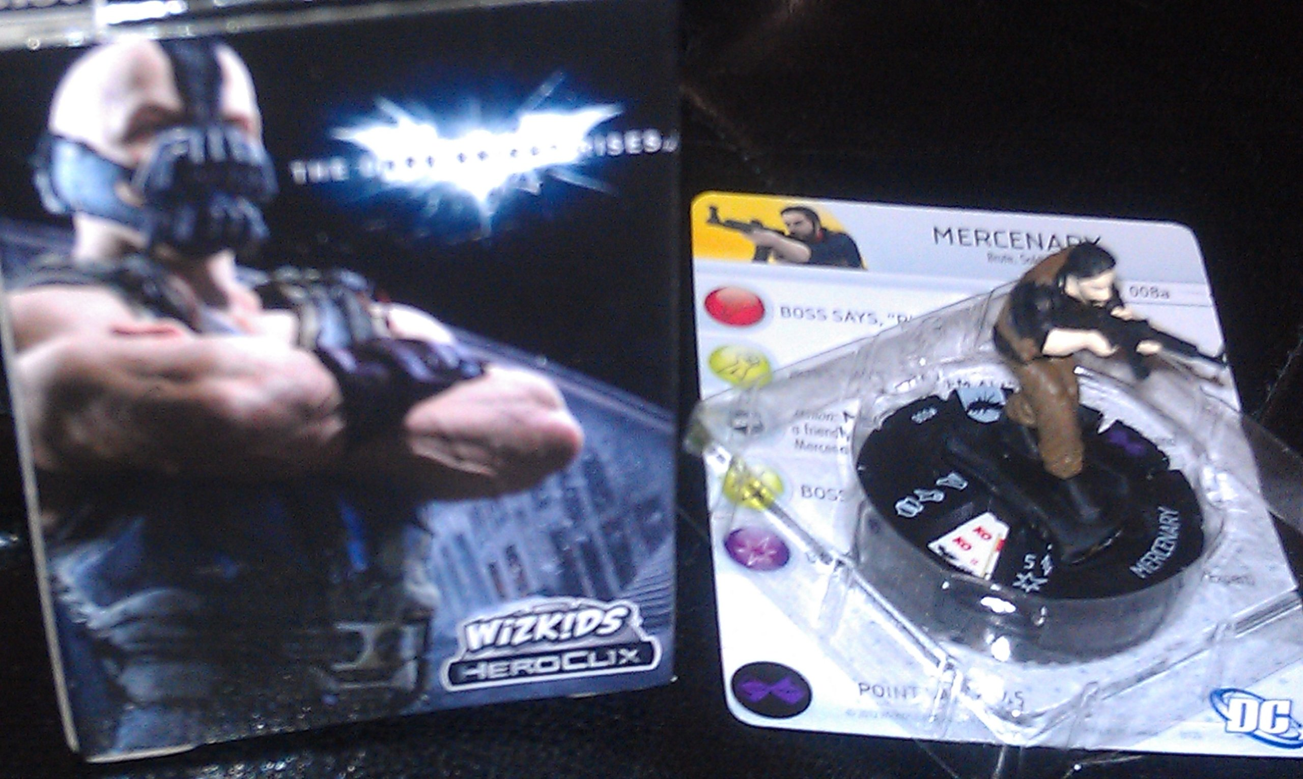 DC Heroclix Dark Knight Rises Counter top Mercenary