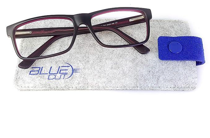 374a84a069 Blue Light Blocking Glasses Anti-Fatigue Non prescription Computer Glasses  Prevent Headaches Gamer Glasses GREAT PICK ...