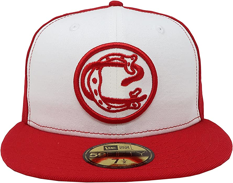 59Fifty Hat Chivas De Guadalajara Retro Liga MX White/Red Fitted Cap