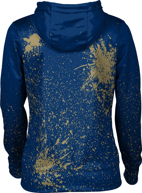 ProSphere University of Akron Girls Pullover Hoodie School Spirit Sweatshirt Splatter