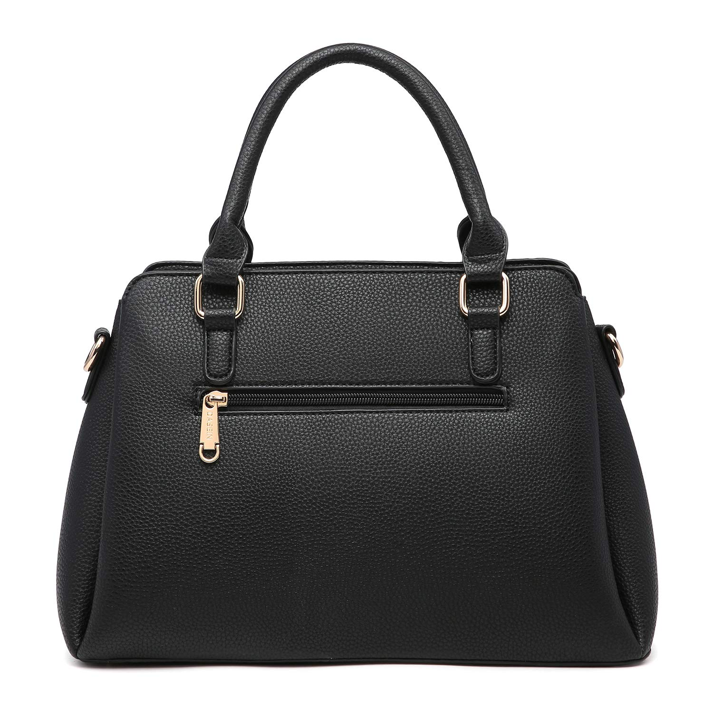 c4687d0f1edb00 Amazon.com: MK Belted collection Fashion Hobo Handbag for Women~2 PCS  Women's Tote Bag Satchel Handbag Shoulder Bags W coin purse  (8013-Black/Black): Marco ...