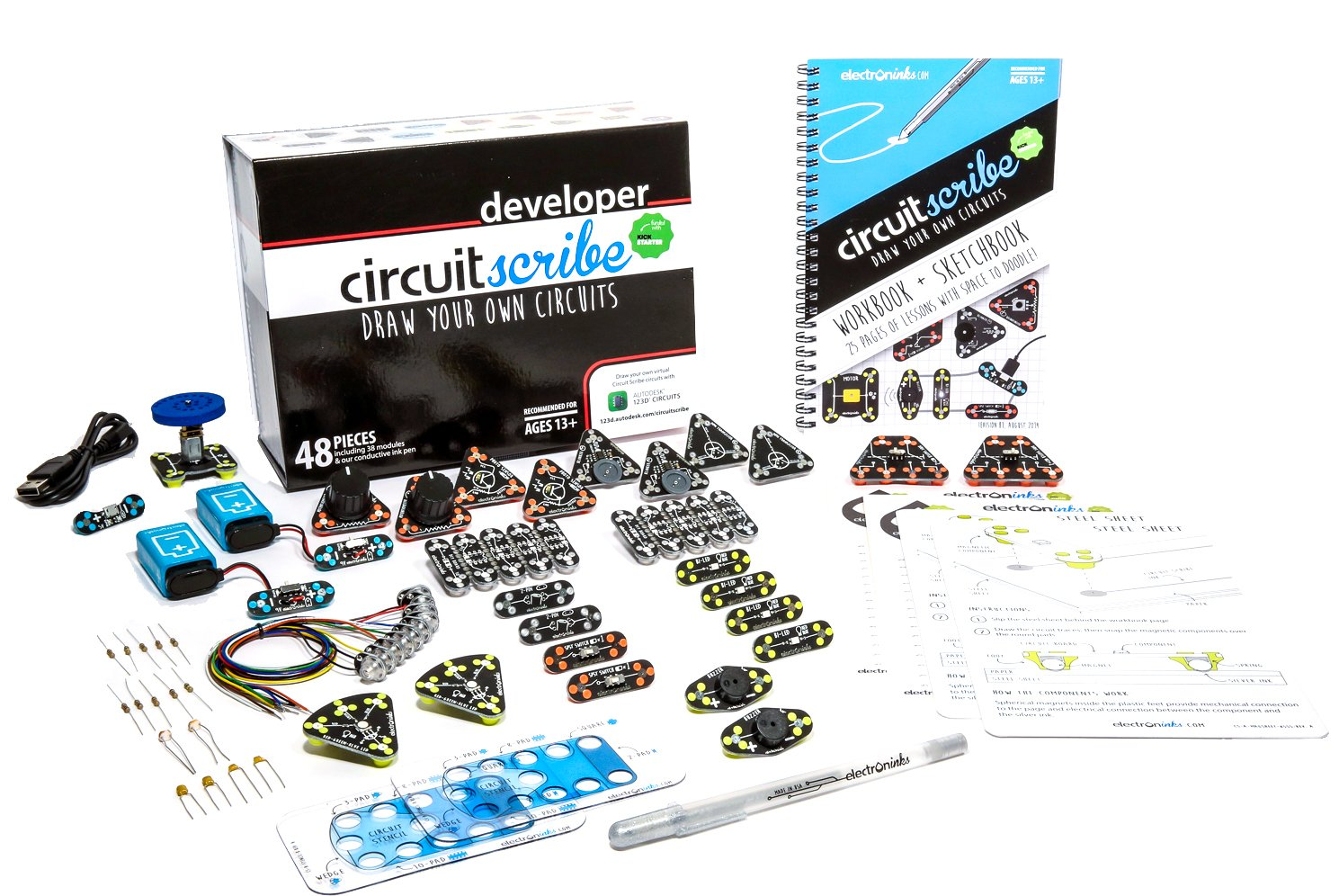Buy Circuit Scribe Developer Kit Draw Circuits Instantly Online At Kickstarter Low Prices In India