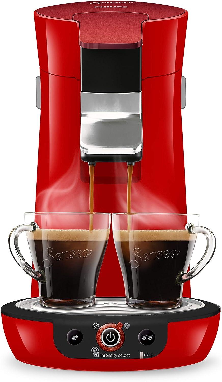 Rojo Senseo Cafetera Viva Caf/é Duo Select HD6564//80 0.9 litros 1450 W