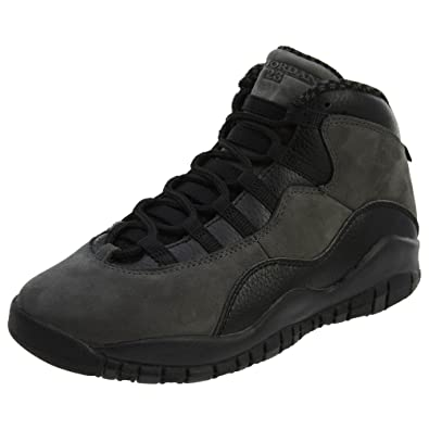 ea347f2836b7cd AIR Jordan 10 Retro BG (GS)  Dark Shadow  - 310806-002  Amazon.co.uk ...