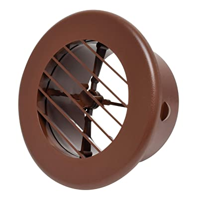 "Valterra A10-3347VP Brown Rotating Heat and A/C Register (4"" ID, 5-3/8"" OD): Automotive"