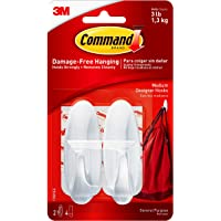 Command 17081 Designer Adhesive 2 Hook