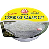 [OTTOGI] Delicious COOKED RICE, Gluten free, Microwavable instant cooked rice, Precooked ready to eat container (7.40oz., 12