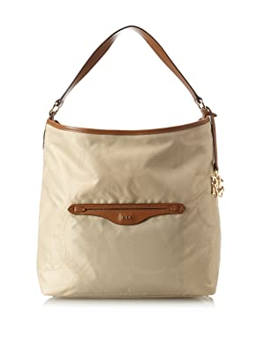 Lauren by Ralph Lauren Hayden Reversible Hobo (Khaki/Lauren Tan)