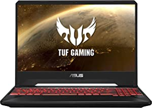 "ASUS TUF Gaming Laptop, 15.6"" IPS Level Full HD, AMD Ryzen 5 3550H Processor, AMD Radeon Rx 560X, 8GB DDR4, 256GB PCIe Nvme SSD, Gigabit WiFi, Windows 10 - FX505DY-ES51 (Renewed)"