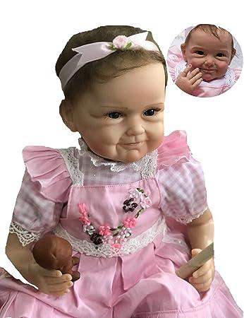Amazon.com: Lifelike Muñecas de bebé reborn para niña de ...