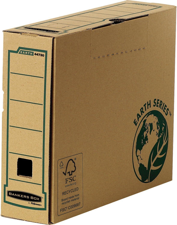Bankers Box 4473102 Caja archivadora A4 + 100 mm, 20 unidades): Amazon.es: Oficina y papelería