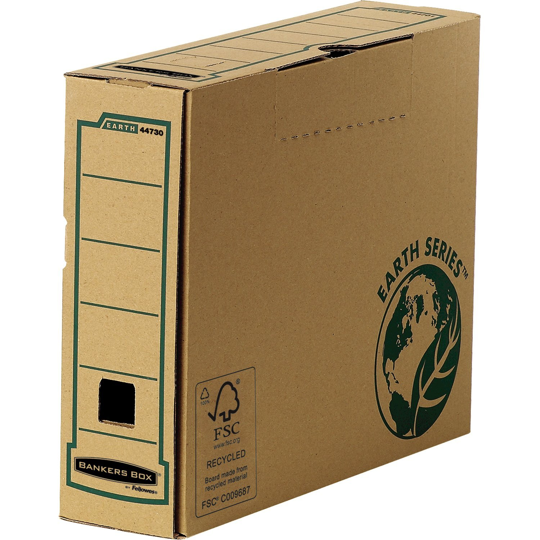 Fellowes Earth Series-Set de 20 cajas de cartón A4, ancho de 15 cm de instalación manual, color marrón: Amazon.es: Oficina y papelería