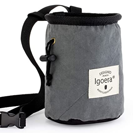 Igoera 4 en 1 Magnesera para Escalada y Boulder: la Bolsa Magnesio es de un Material ...