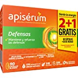 Apisérum Pack Defensas Cápsulas - 3 meses de tratamiento - Mantiene y refuerza las defensas - Multivitamínico con Jalea…