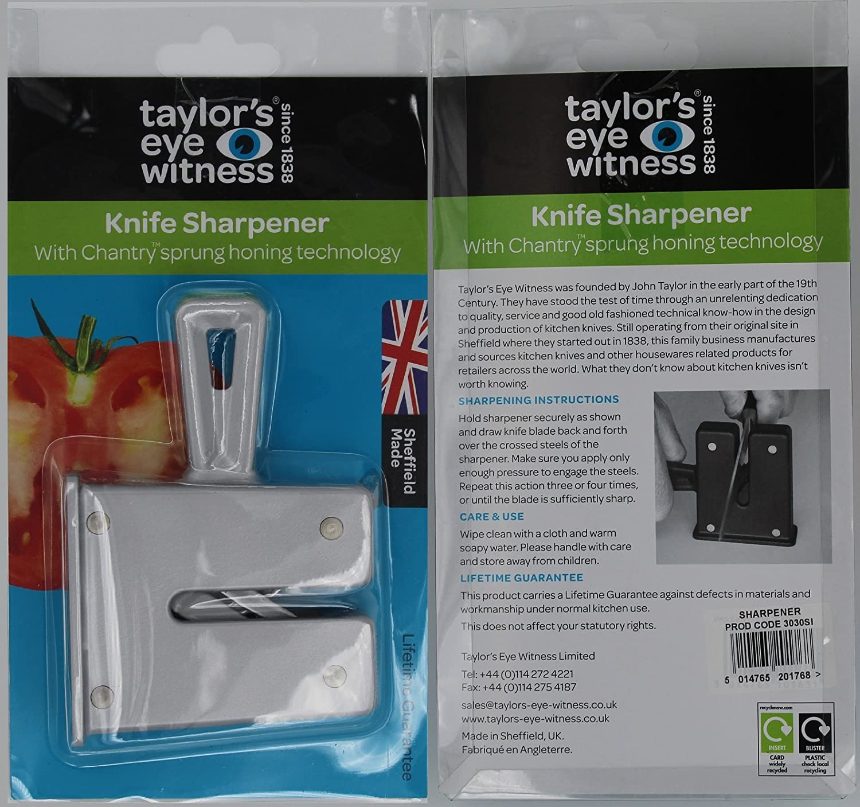 Sheffield Choice Plus color negro Afilador de cuchillos