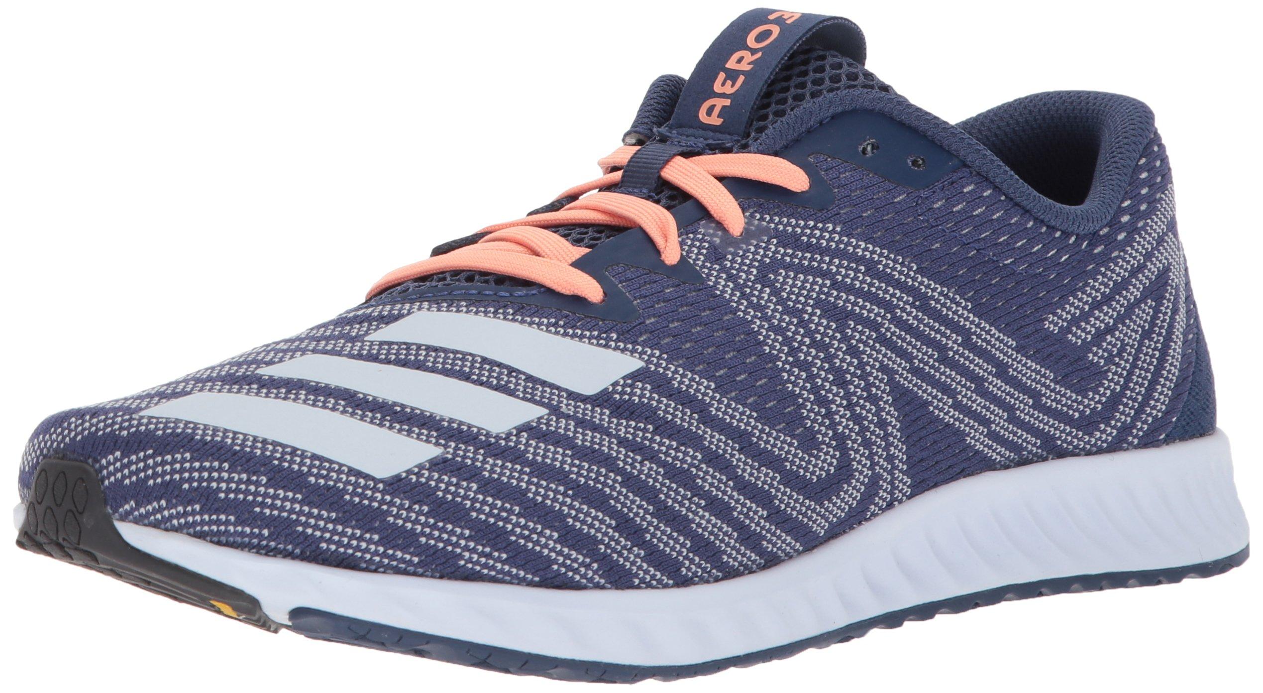 detailed look bf9ae c1fb8 Galleon - Adidas Womens Aerobounce Pr W Running Shoe Aero BlueNoble  Indigo, 6 M US