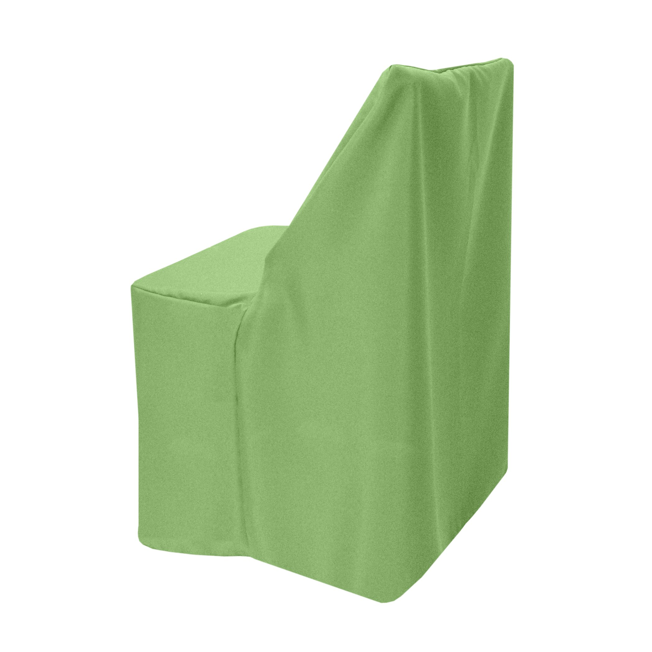 Ultimate Textile (3 Pack) Polyester Folding Chair Cover - for Wood Folding Chairs, Sage Green