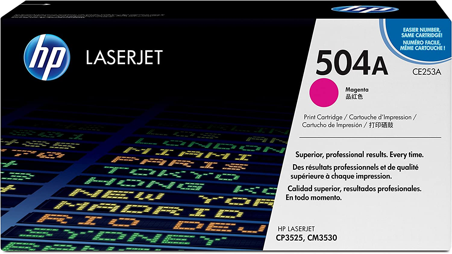 HP 504A | CE253A | Toner Cartridge | Magenta