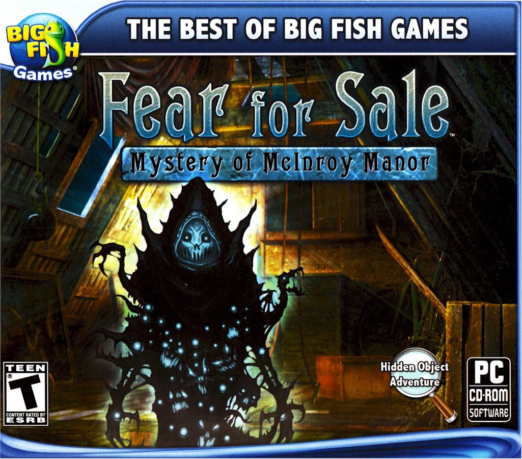 Amazon Com Fear For Sale Mystery Of Mcinroy Manor Video Games