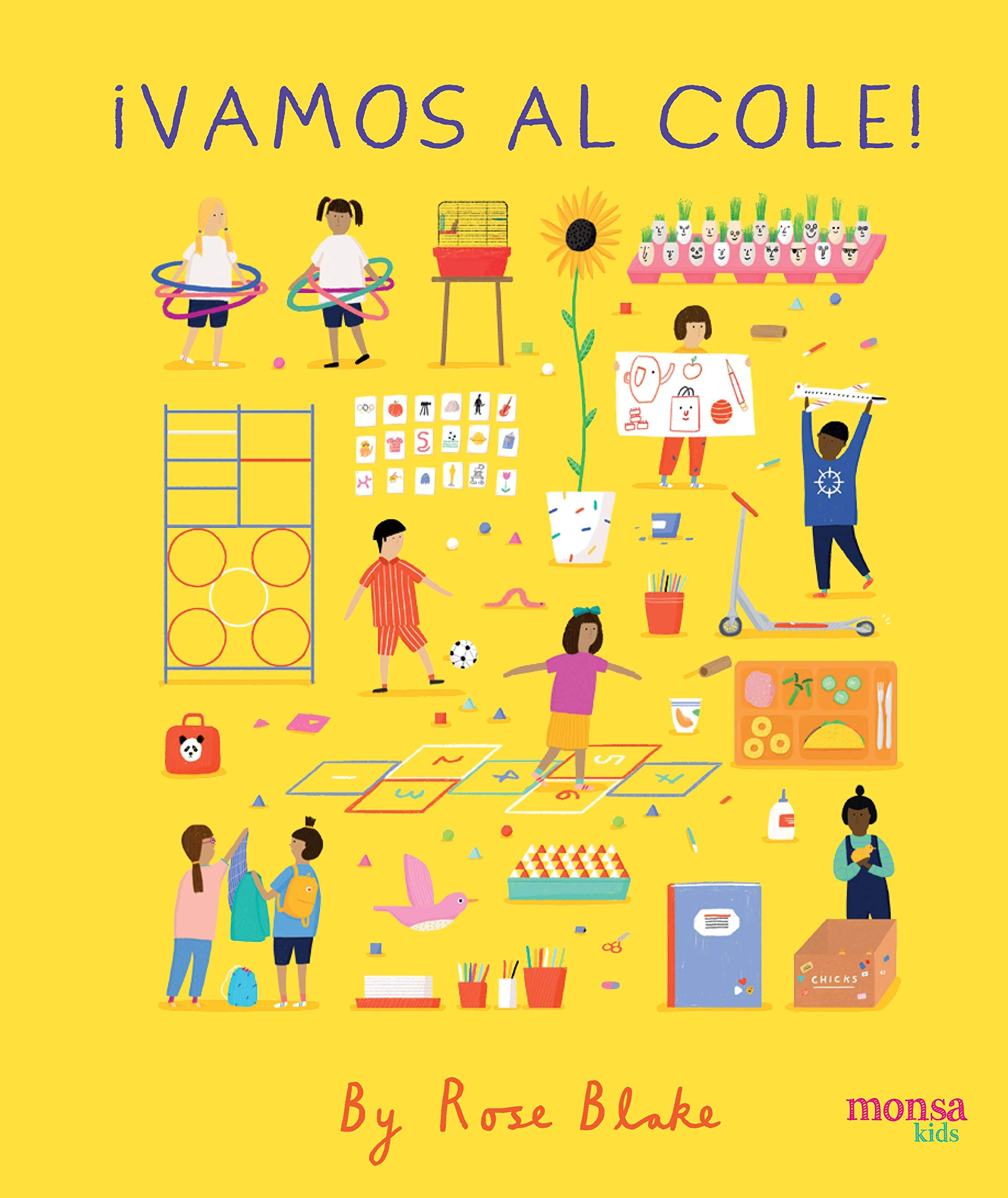 VAMOS AL COLE: Rose Blake: 9788416500826: Amazon.com: Books