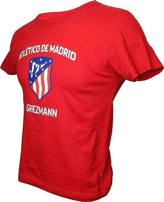 Atlético de Madrid Camiseta Infantil Team - Rojo - Griezmann - 7 ...