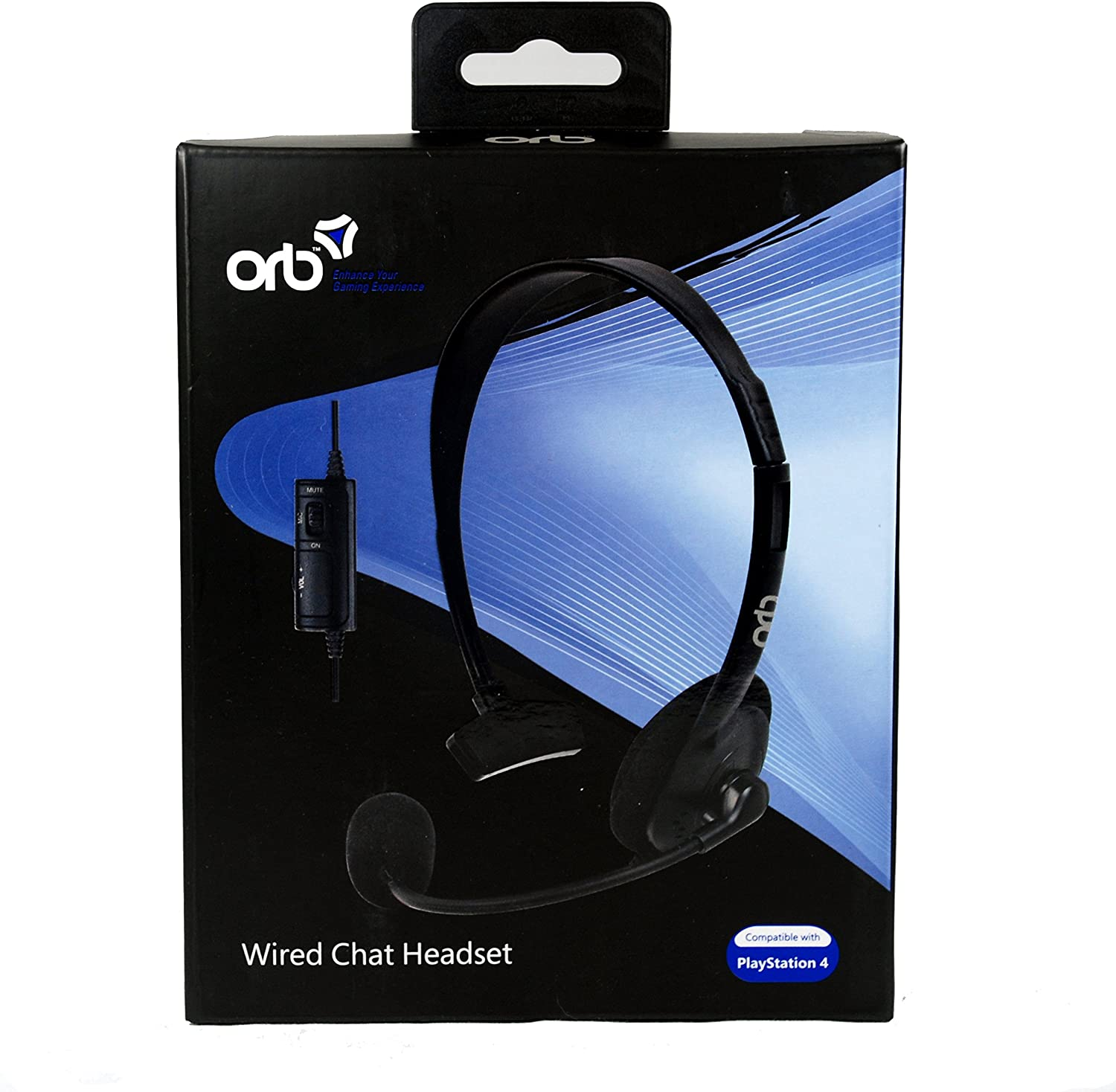 ORB Wired Chat Headset (PS4) [Importación Inglesa]: Amazon.es ...