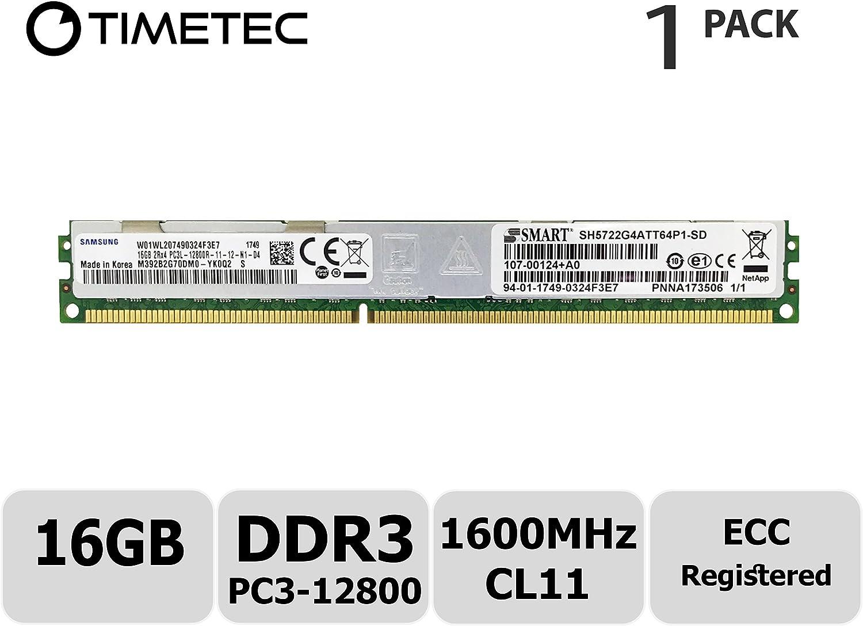 1 x 16GB PC3-12800 ECC Registered RDIMM 240-Pin 2Rx4 1.35V Server Memory RAM A-Tech 16GB for ASROCK EN2C602-4L DDR3-1600