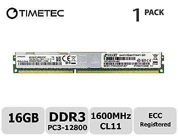 16GB 1x16GB Memory Ram Server DDR3 PC3 10600R 1333 MHz 240-pin ECC Registered