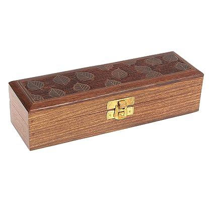 Amazon ShalinIndia Handmade Indian Wood Jewelry Box