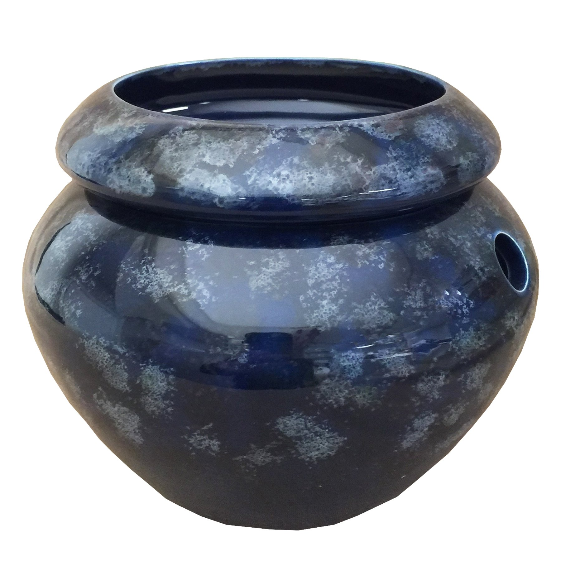 Blue 4'' Urn Shaped Self Watering Planter