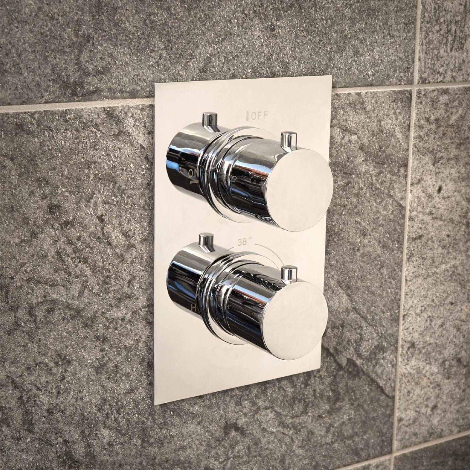 Concealed Dual Control Thermostatic Shower Valve EcoS9 Range