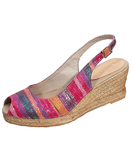 Toni Pons - Alpargata Mujer , color Multicolor, talla 37: Amazon.es: Zapatos y complementos