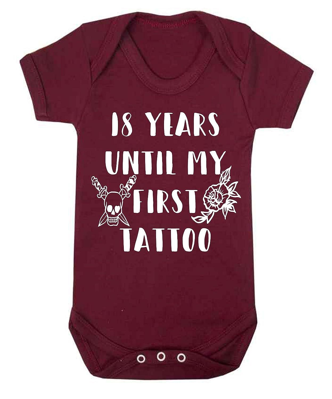 Chaleco para bebé de 18 años hasta mi primer tatuaje, mono para ...