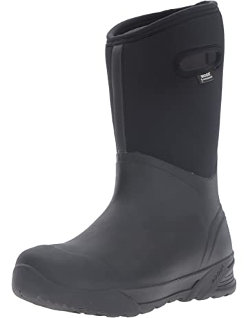 a16b6add97 Bogs Men s Bozeman Tall Waterproof Warm Insulated Winter Work Rain and Snow  Boot